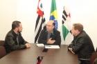 Prefeito recebe visita do presidente da ACIVI