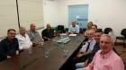 Nova diretoria da Acivi visita prefeito Jaime Cruz!