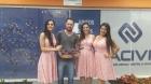 Promotoras da Festa da Uva 2018 visitam a sede da ACIVI