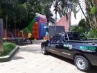Acivi faz distribuição de doces para crianças  na Praça Santana.